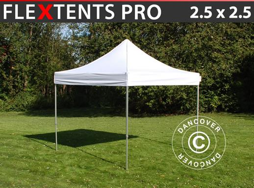 Pop up gazebo FleXtents PRO 2.5x2.5 m White