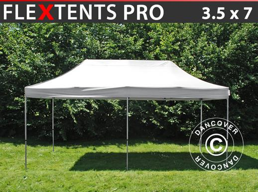 Pop up gazebo FleXtents PRO 3.5x7 m White