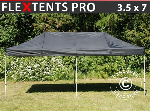 Pop up gazebo FleXtents PRO 3.5x7 m Black
