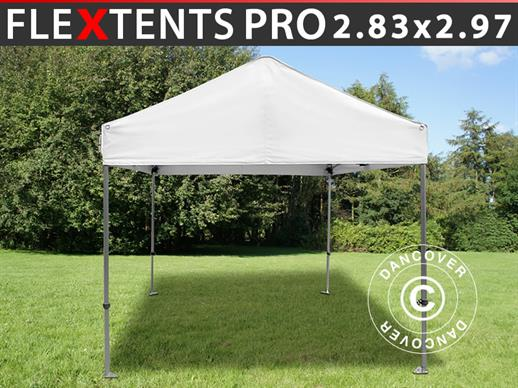 Pop up gazebo FleXtents Multi 2.83x2.97 m White