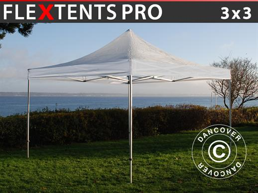 Quick-up telt FleXtents PRO 3x3m Transparent