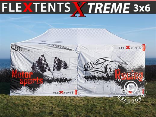 Vouwtent/Easy up tent FleXtents Xtreme 50 Racing 3x6m, Limited edition
