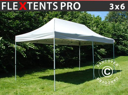 Pop up gazebo FleXtents PRO 3x6 m Silver