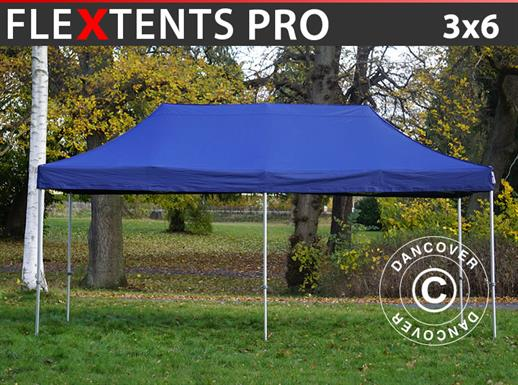 Pop up gazebo FleXtents PRO 3x6 m Dark blue