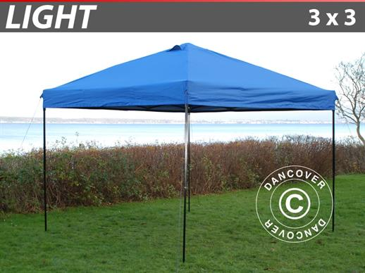 Pop up gazebo FleXtents Light 3x3m Blue