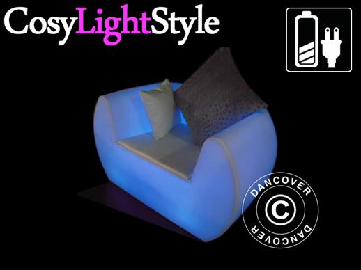 LED Lounge chair, Chill, 117x88x68 cm