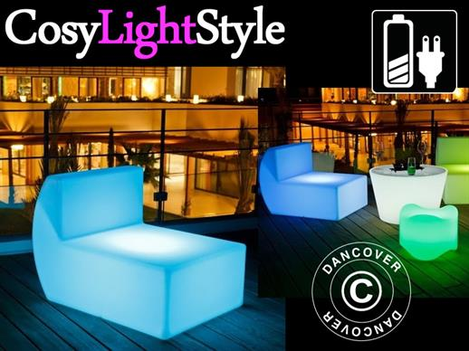 LED Sofa, Middle, Chill, 71x88x68 cm