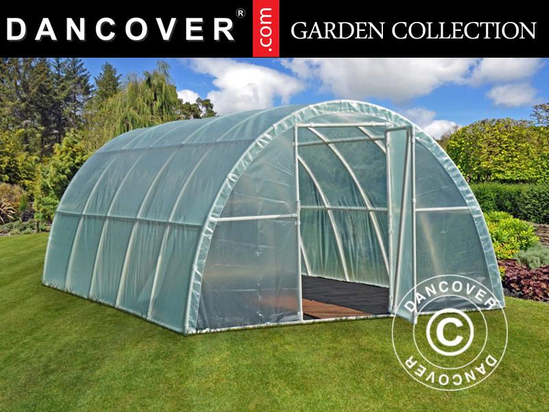 Polytunnel Greenhouse 3x6x19 M Transparent Dancovershop Worldwide
