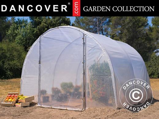 Polytunnel Greenhouse 3x4.5x2 m, 13.5 m², Transparent
