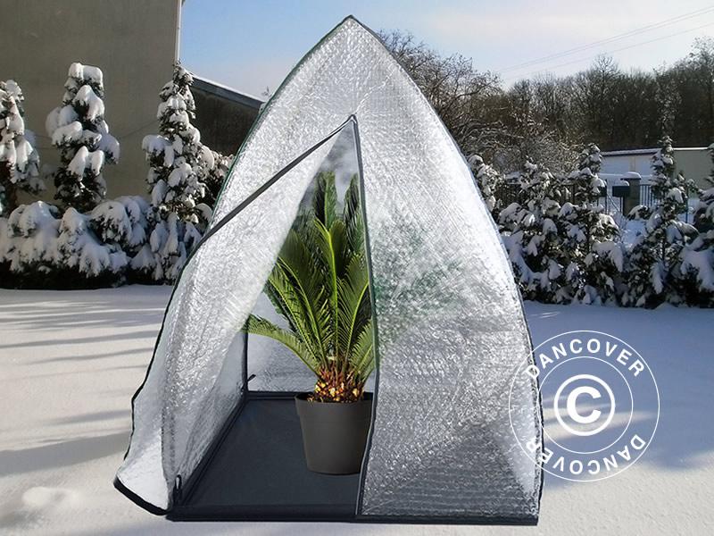 serre d 39 hivernage igloo 1 2x1 2x1 8m dancovershop be. Black Bedroom Furniture Sets. Home Design Ideas