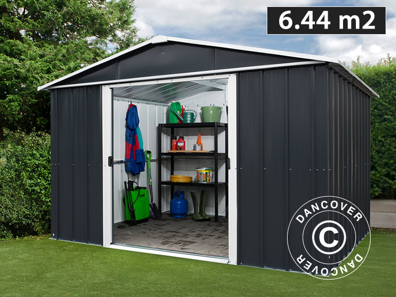 Superbe Garden Shed 3.03x2.37x2.02 M, Anthracite
