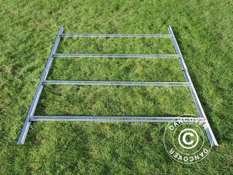 Estructura de suelo para caseta de jard n proshed 2 77x2 for Estructuras de jardin