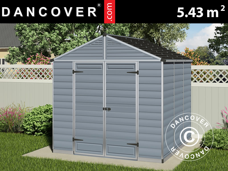 casetta da giardino in policarbonato skylight 2 29x2. Black Bedroom Furniture Sets. Home Design Ideas