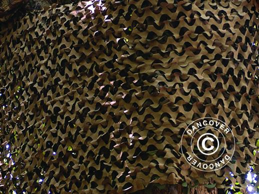 Camouflage net Woodland BASIC LIGHT, 1,4x3m