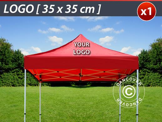 1 pc. FleXtents roof cover print 35x35 cm