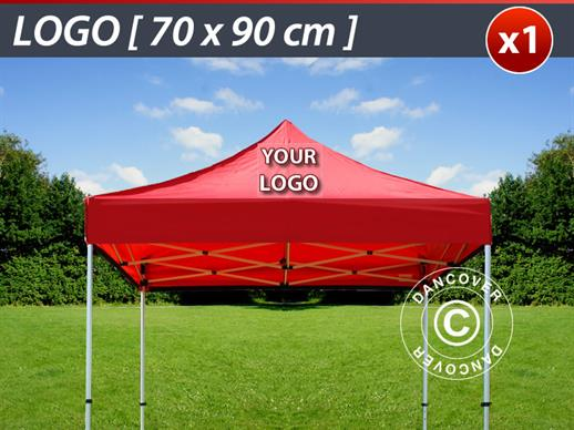 1 pc. FleXtents roof cover print 70x90 cm