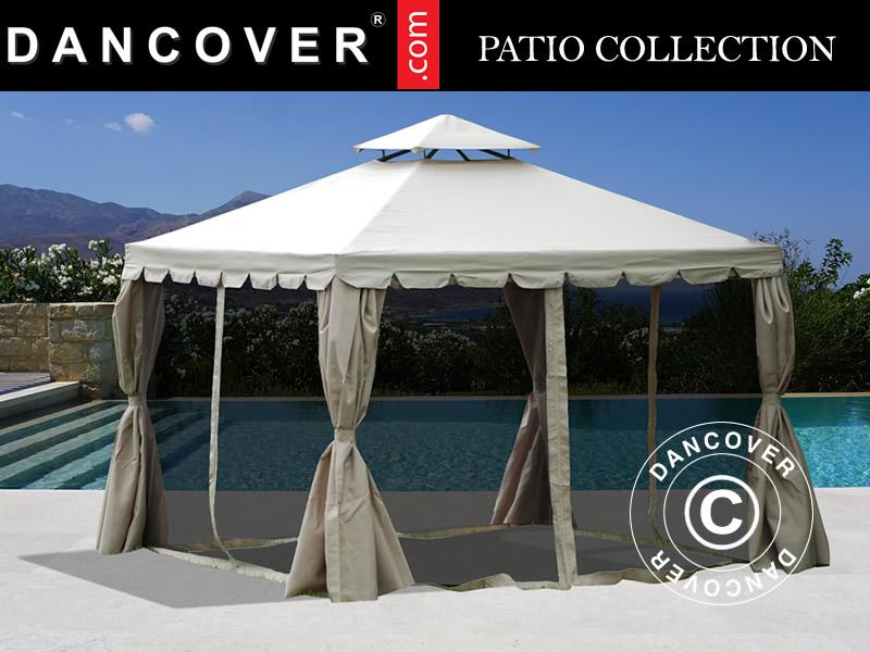 gazebo osiris m sand dancovershop uk. Black Bedroom Furniture Sets. Home Design Ideas