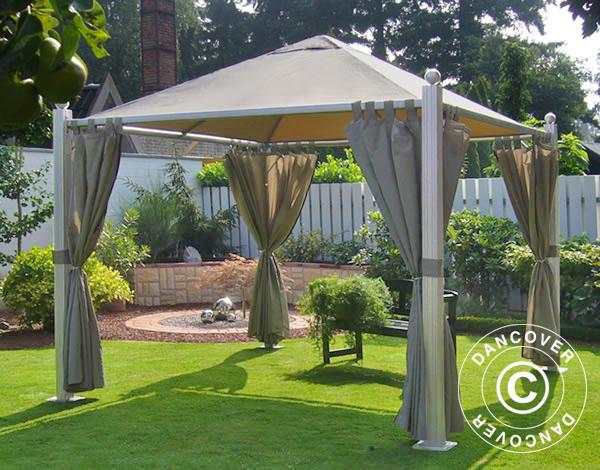 pavillon golden sun pavillon 3x3 m pavillon dancovershop de. Black Bedroom Furniture Sets. Home Design Ideas
