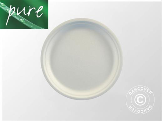 Disposable plates Ø23cm, 100 pcs. White