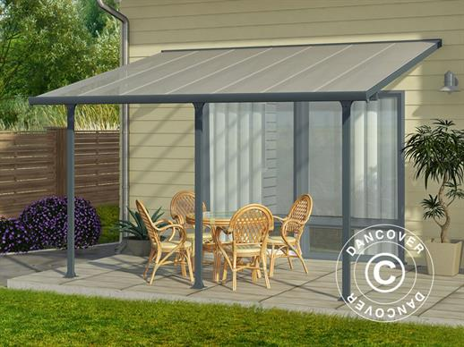 Patio Cover Feria 3x4.25 m, Grey