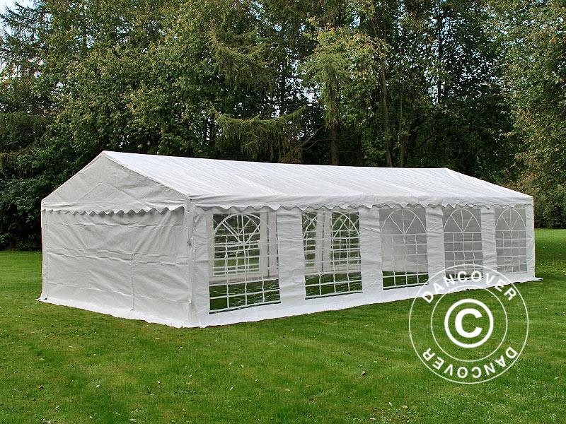 Dancover carpa para fiestas 5x10m pe ebay for Carpas jardin alcampo