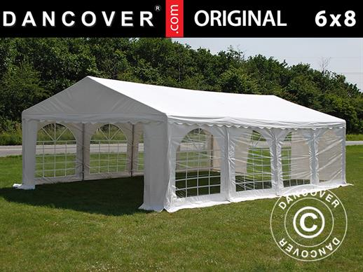 Partytent Original 6x8m PVC, Wit