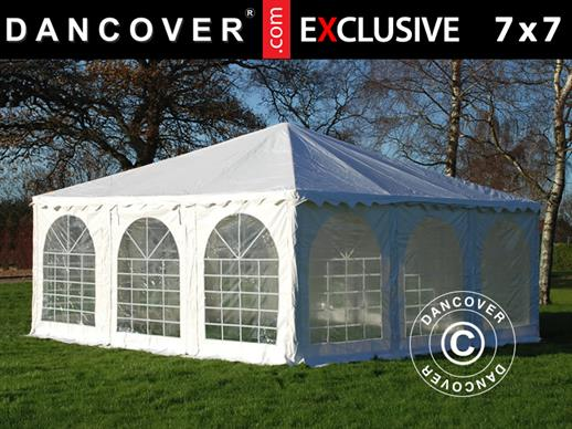 Partytent Exclusive 7x7m PVC, Wit