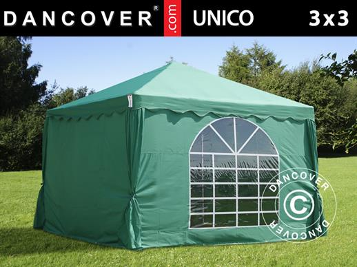 Marquee UNICO 3x3 m, Dark Green