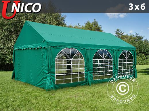 Marquee UNICO 3x6 m, Dark Green