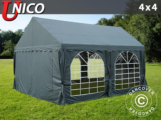 Marquee UNICO 4x4 m, Dark Grey