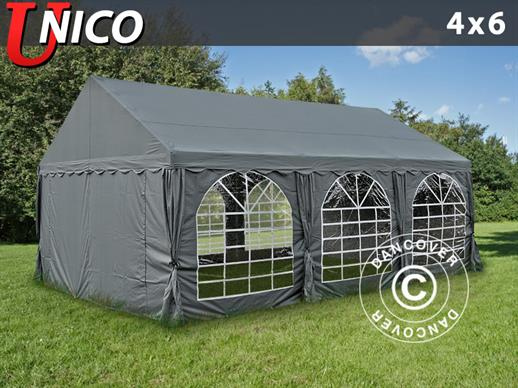 Marquee UNICO 4x6 m, Dark Grey