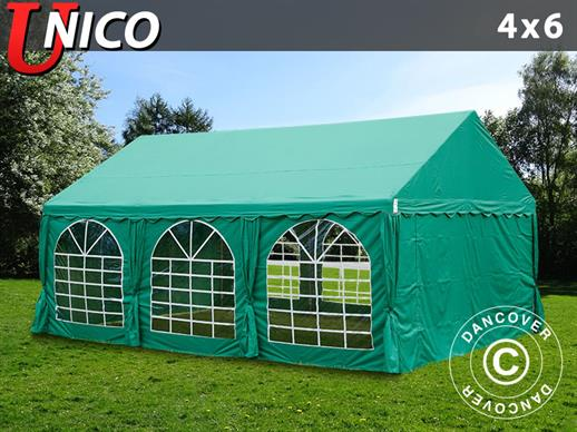 Marquee UNICO 4x6 m, Dark Green