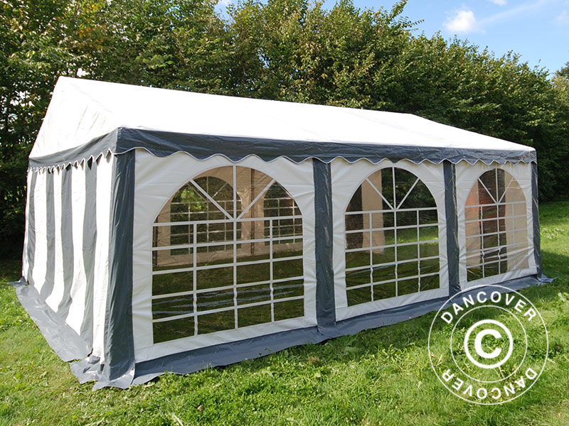 Marquee 4x6 m PVC Garden Party Tent 4m x 6m Gazebo Wedding Canopy Heavy Duty  eBay