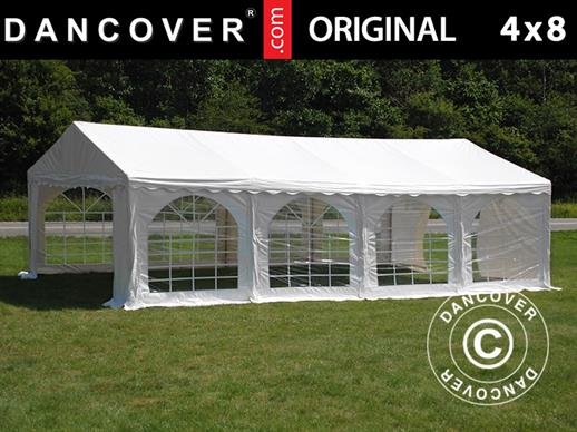 Partytent Original 4x8m PVC, Wit