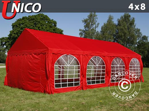 Marquee UNICO 4x8 m, Red