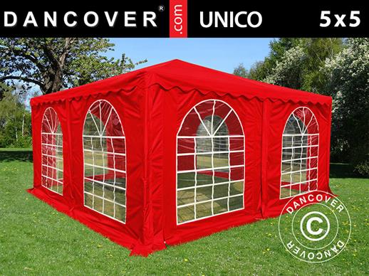 Pagoda Marquee UNICO 5x5 m, Red