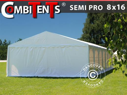 Carpa para fiestas, SEMI PRO Plus CombiTents® 8x16 (2,6)m 6 en 1