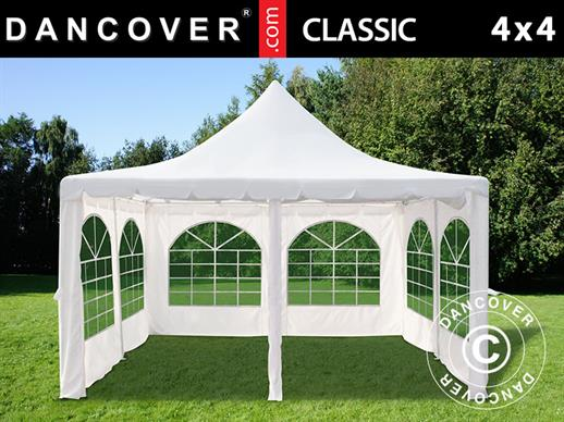 Marquee Pagoda Classic 4x4 m, Off-White