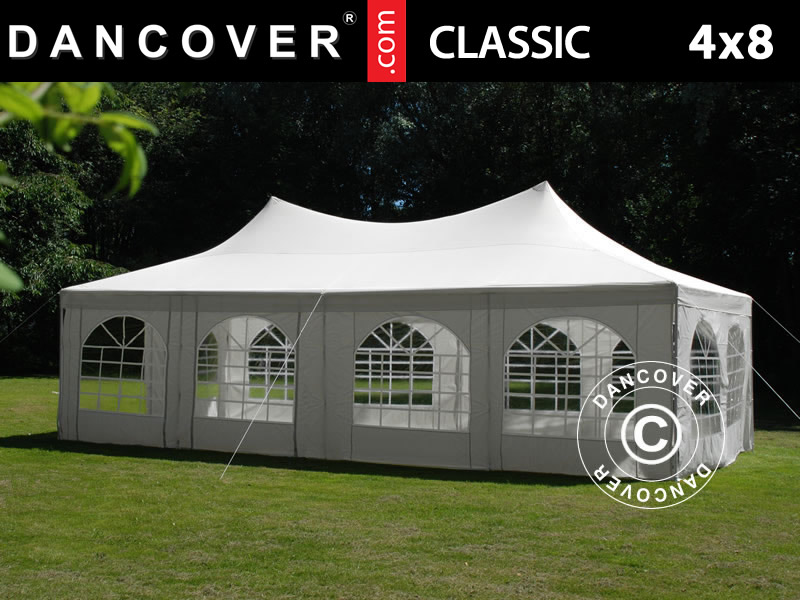 Marquee Pagoda 4x8m Off-White & Marquee Pagoda 4x8 m. Marquee Pagoda for sale. Buy your new ...