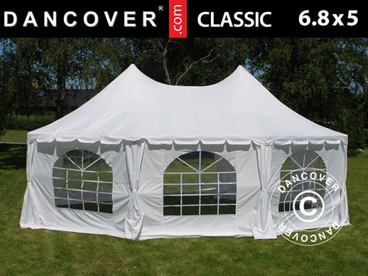 Marquee Pagoda Classic 6.8x5 m, Off-White