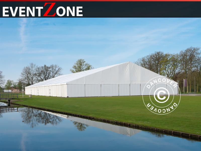 Carpa para eventos profesional EventZone 20x20m. Carpa para eventos ...