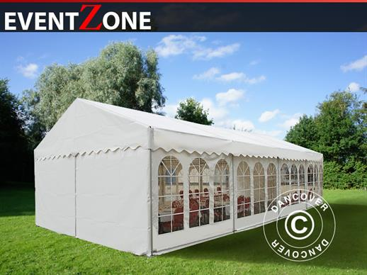 Professional Marquee EventZone  6x12 m PVC, White