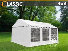 partyzelt 4x6 m pvc dancovershop de. Black Bedroom Furniture Sets. Home Design Ideas