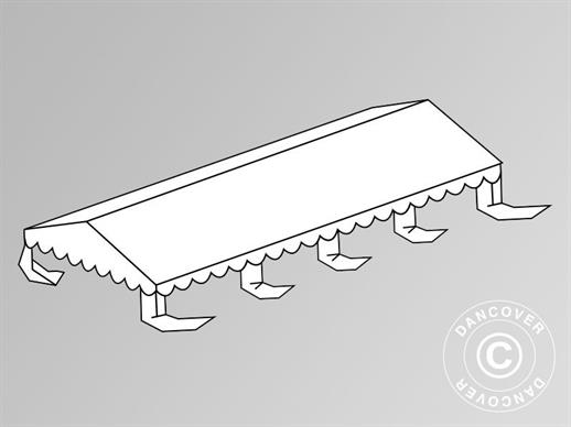Roof cover for Marquee Original 5x8 m PVC, White