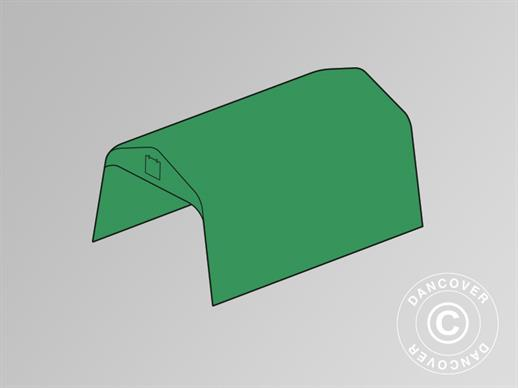 Roof cover for storage tent PRO 3.6x6 m PVC, Green
