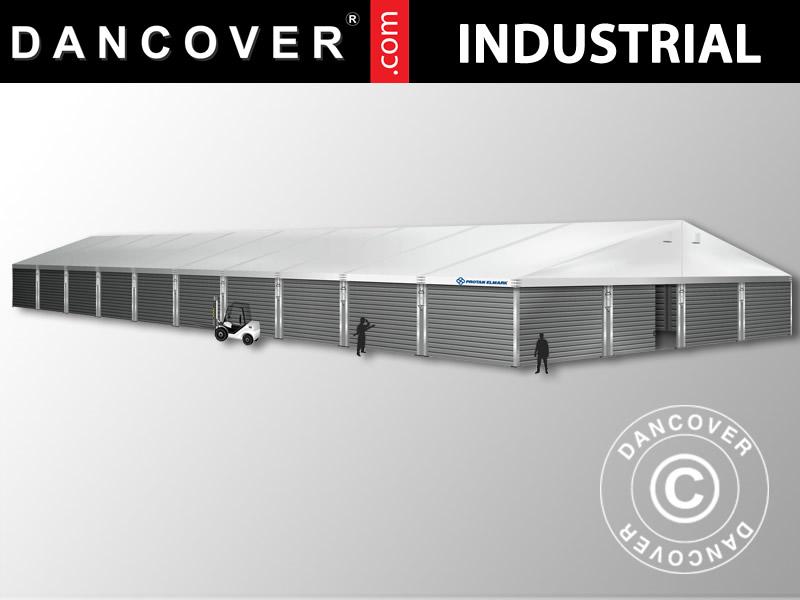 Hangar de stockage industriel 20x50x9 04m avec porte for Porte hangar coulissante