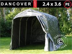 ST18020 Storage tent PRO 2.4x3.6x2.34 m PE Grey & Storage Tents u0026 Shelters - Dancovershop UK