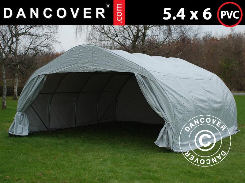 Nowość Namiot garaż 5,4x6m. Namiot garaż PVC na sprzedaz. Podwójny namiot XR69