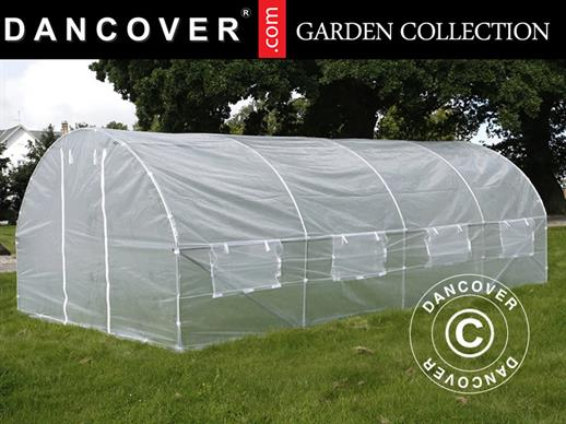 Polytunnel Greenhouse 3x6x2 m, Transparent