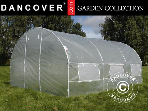 Polytunnel Greenhouse 3x4.5x2 m, Transparent